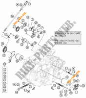 OLIEPOMP voor KTM 690 DUKE BLACK ABS 2015
